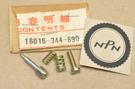 NOS Honda CB350 K4 CL350 K4-K5 Carburetor Adjustment Screw Set A 16016-344-690