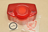 NOS Honda C70 CA175 CB350 CB450 CB750 CL350 CL450 CL70 CL90 CT90 S90 SL350 Rear Tail Light Lens 33702-077-671