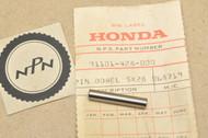 NOS Honda ATC350 TRX250 TRX350 Fourtrax XL250 XL500 XR250 XR500 Dowel Pin 91101-428-000