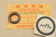 NOS Honda ATC350 GB500 NX250 TRX250 TRX300 XL250 R XL350 R XL600 XR200 XR250 R Oil Seal 91201-KF0-003
