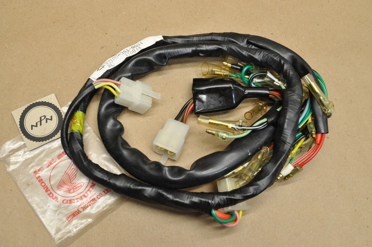 NOS Honda CB200 T CL200 Wire Wiring Harness 32100-351-000 on