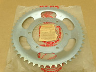 NOS Honda 1976 MR250 Rear Chain Drive Sprocket Offset 49T 41201-395-810