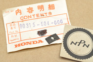 NOS Honda CB500 CB550 CB650 CB750 CX500 GL500 SL125 VF700 VF750 VT1100 XL350 Z50 3mm Speed Nut 90315-504-000