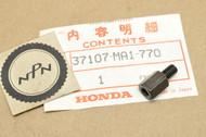 NOS Honda 1981-82 GL500 1983 GL650 Silver Wing Hood Bolt 37107-MA1-770
