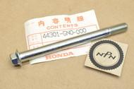 NOS Honda 1986-87 NQ50 Spree Front Wheel Axle 44301-GN0-000