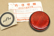 NOS Honda CH250 SA50 SB50 Elite Red Rear Reflector 33741-GS7-671