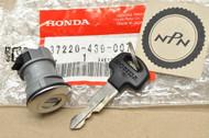 NOS Honda CBX CMX450 GL1100 GL1200 GL1500 GL500 Gold Wing Gas Tank Filler Lid Lock 37220-439-007