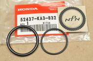 NOS Honda 1984-86 CR125 R 1986-95 XR250 R Shock Absorber O-Ring Seal Set 52437-KA3-832