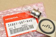 NOS Honda ATC110 CA200 CL90 CT90 MR175 MR250 S90 TL250 XR185 XR200 XR250 XR500 Head Light Bulb 34901-087-640