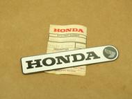 NOS Honda CT90 Trail 90 K2 Frame Down Tube Cover Right Side Emblem Badge 87121-102-000