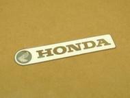NOS Honda CT90 Trail 90 K2 Frame Down Tube Cover Left Side Emblem Badge 87122-102-000