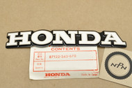 NOS Honda CL175 K6-K7 CL200 Right Gas Tank Badge Emblem 87122-343-670