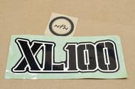 NOS Honda XL100 K0 Side Cover Emblem Decal 87128-364-670