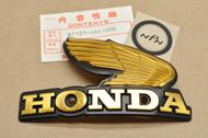 NOS Honda 1980-1982 CB750 C CB900 C Fuel Gas Tank Right Side Badge Emblem 87121-461-000