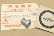 NOS Honda C70 CB125 CL125 CL70 CT70 CT90 QA50 S65 SL125 SL90 XL70 Z50 Rear Brake Adjusting Nut 45462-028-000