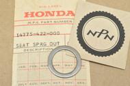 NOS Honda CB1100 CB750 CBX VF1000 VF1100 VF700 VF750 Outer Valve Spring Seat 14775-422-000