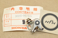NOS Honda ATC70 CL70 CT70 SL70 XL70 XL75 XR100 XR75 XR80 Z50 Ignition Contact Points Breaker 30202-041-015