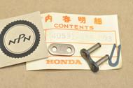 NOS Honda ATC110 CR125 MR175 MT125 SL100 SL125 TL125 XL100 XL125 Drive Chain Master Link 40531-355-003