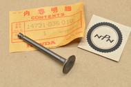 NOS Honda 1982-83 C70 1982 CT70 1976-1981 K0-K6 Z50 R Exhaust Valve 14721-036-010