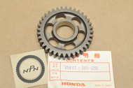 NOS Honda CB350 CB500 CB550 CL350 SL350 Transmission Counter Shaft 2nd Gear 36T 23441-286-020