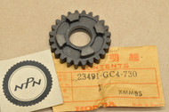 NOS Honda 1984 CR60 R CR80 R Main Shaft Fifth 5th Gear 24T 23491-GC4-730
