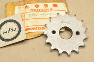 NOS Honda 1979 XR185 Front Drive Chain Sprocket 15T 23801-446-000
