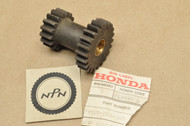 NOS Honda Trail 90 CT90 Sub Transmission Counter Shaft Gear 16T x 22T 23910-053-000