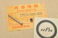 NOS Honda CB350 CB360 CB400 CB450 CB750 CL350 CL450 SL350 Fuel Gas Tank Cap Pin 17513-300-300