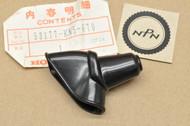 NOS Honda XR200 XR250 XR600 XR80 Handlebar Left Clutch Lever Rubber Cover 53177-KN5-670