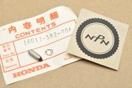 NOS Honda CB550 CB650 CB750 CM400 CX500 XL250 XL350 XL500 XL600 XR250 XR350 XR500 XR600 Float Valve Set 16011-382-004