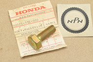 NOS Honda 1976-79 GL1000 Gold Wing Timing Belt Pulley Bolt 90021-371-000