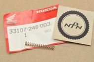 NOS Honda ATC350 XR185 XR200 XR250 XR350 XR400 XR500 XR600 Head Light Adjusting Spring 33107-246-003