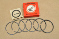 NOS Honda CA95 CT200 0.50 Oversize Piston Ring Set for 2 Pistons = 6 Rings 13030-201-000