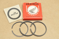 NOS Honda C100 CA100 C102 CA102 C110 CA110 0.75 Oversize Piston Ring Set for 1 Piston= 3 Rings  13040-001-010