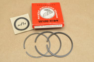 NOS Honda CB125 CL125 SL125 K0-K2 TL125 0.75 Oversize Piston Ring Set for 1 Piston- 3 Rings 13041-324-014