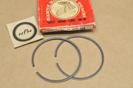 NOS Honda MR175 K0, 1976 Elsinore 0.25 Oversize Piston Ring Set for 1 Piston= 2 Rings 13012-373-003