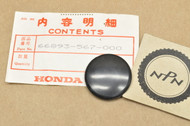NOS Honda 1980-81 GL1100 Gold Wing 1981 GL500 Silver Wing Cigarette Lighter Hole Cap 66893-567-000