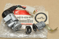 NOS Honda 1988-90 SB50 Elite Ignition Switch & Lock Set 35010-GS6-671