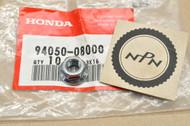 NOS Honda  ATC200 ATC250 ATC350 CB1000 CB1100 CB350 CB400 CB650 CB750 GB500 GL1100 XL250 XR500 Flange Nut 94050-08000