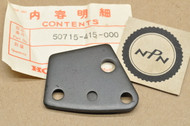 NOS Honda 1978-81 CX500 D Helmet Holder Lock Mount Plate 50715-415-000