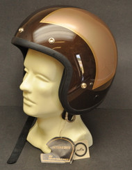 Vintage NOS 1982 Honda Hondaline GL1100 Goldwing Interstate Shoei S/S Stag Helmet Large