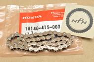 NOS Honda CBR600 CBR900 CX500 CX650 GL500 GL650 VF500 VTR1000 VTR250 Oil Pump Chain 15140-415-003