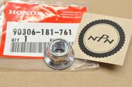 NOS Honda ATC200 ATC250 CR250 CR450 CR480 CR500 XL80 XL250 XR80 XR100 XR250 Z50 Flange Nut 90306-181-761