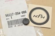 NOS Honda C70 Handlebar Cover Hole Rubber Plug 50317-254-000