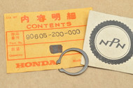 NOS Honda CA160 CA175 CB350 CL100 CL70 CT70 SL70 XL125 XL500 XL70 XR250 XR70 Z50 Set Ring Circlip 90605-200-000