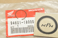 NOS Honda CB450 CM450 CMX450 CR250 FL250 GL1500 MR250 MT250 VF700  VF750 Piston Pin Circlip 94601-18000
