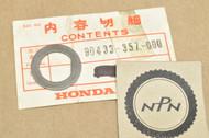 NOS Honda CR250 M CR250R MR250 MT250 K0-1976 Starter Idle Gear Thrust Washer 90433-357-000