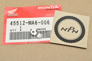 NOS Honda CB650 CBR1000 CBR1100 GL1200 GL1500 VF750 VF1000 VFR700 VFR750 VT700 VT1100 Brake Master Cylinder Protector 45512-MA6-006