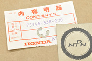 NOS Honda 1983 CX650 Cover Panel or Box Lid E- Clip 73146-538-000