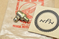 NOS Honda ATC250 R CB1100 CB750 F CB900 TRX250 XL125 XL200 XR185 XR200 Grease Zerk Fitting 96201-60000